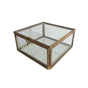 Glass Box-Small Museum Artifact Davinci Code