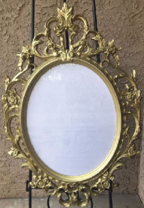 Golder Photo Frame Baroque