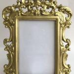 Golden Photo Frame Milano