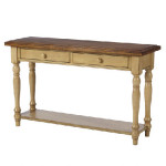 Wooden brown Console Table Quinn