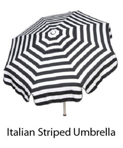Italian Striped Umbrella