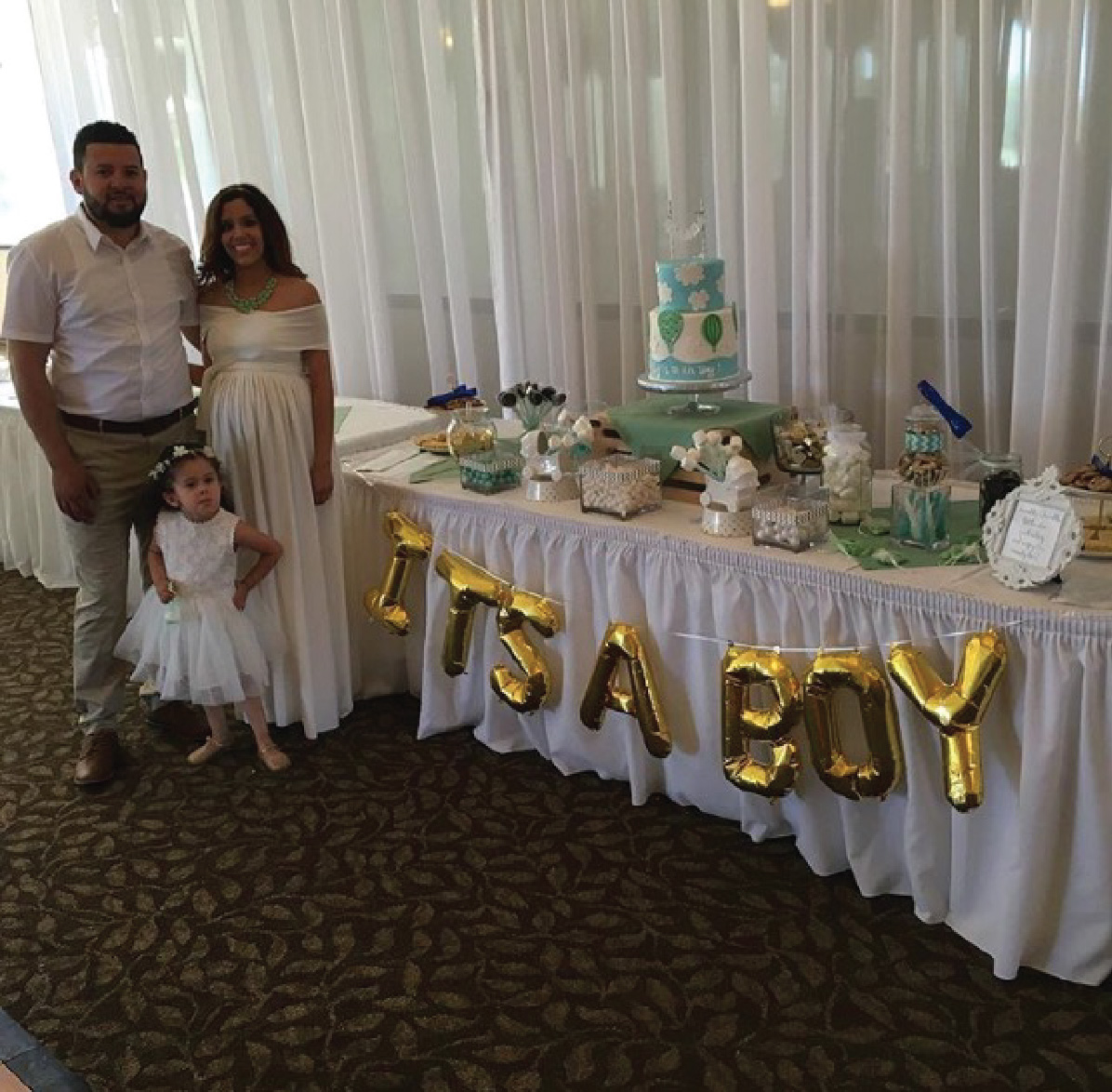 4.la mirada golf course baby shower
