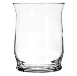 Decorative Glass Hurricane Shape Candleholder